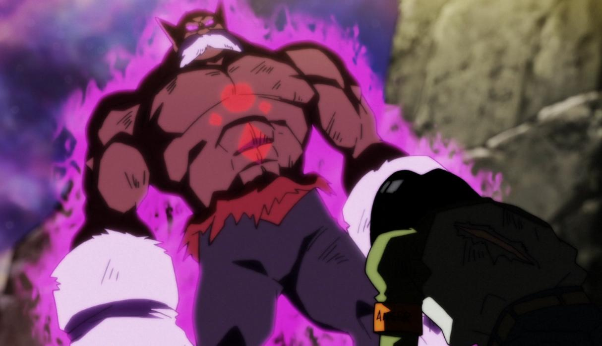 Avance de la batalla entre Vegeta y Toppo — Dragon Ball Super