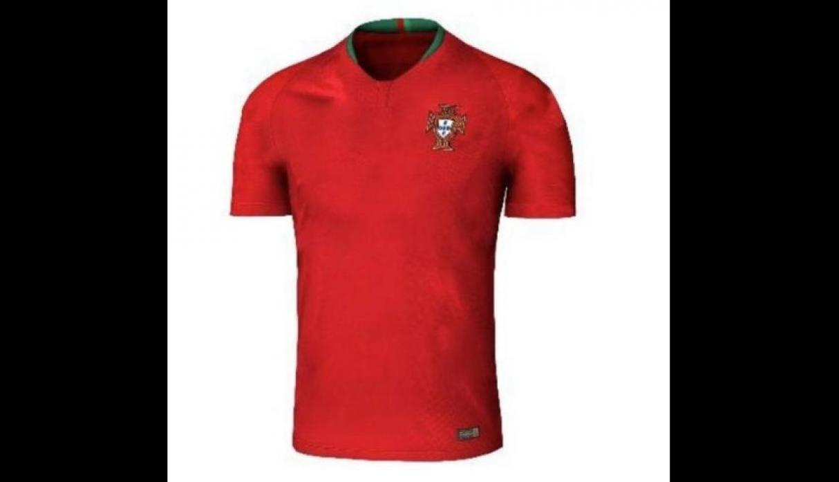 Camiseta de Portugal. (Foto: internet)