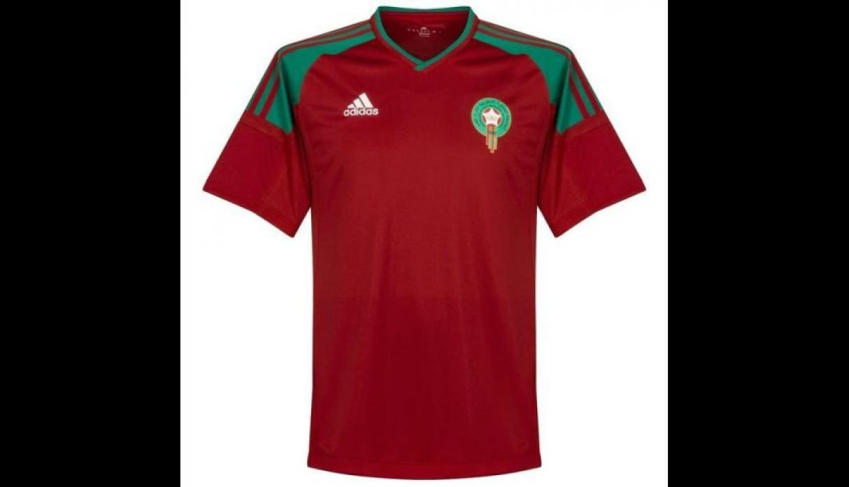 Camiseta de Marruecos. (Foto: internet)
