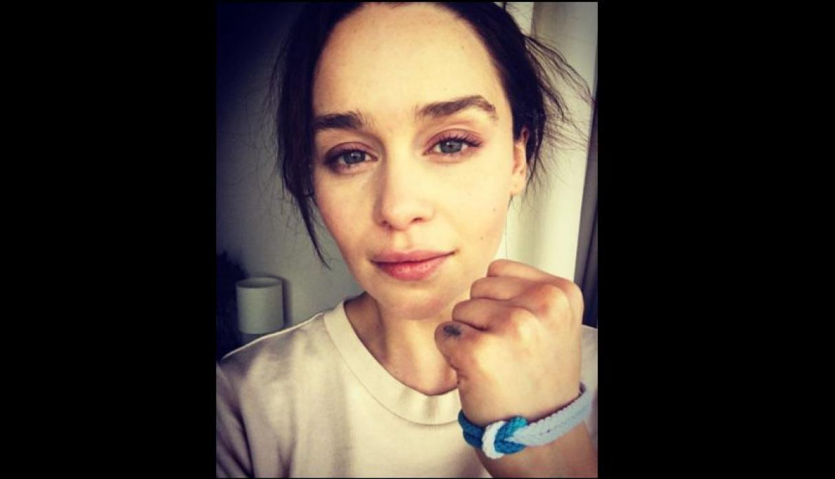 "Emilia Clarke de ""Game of Thrones"""