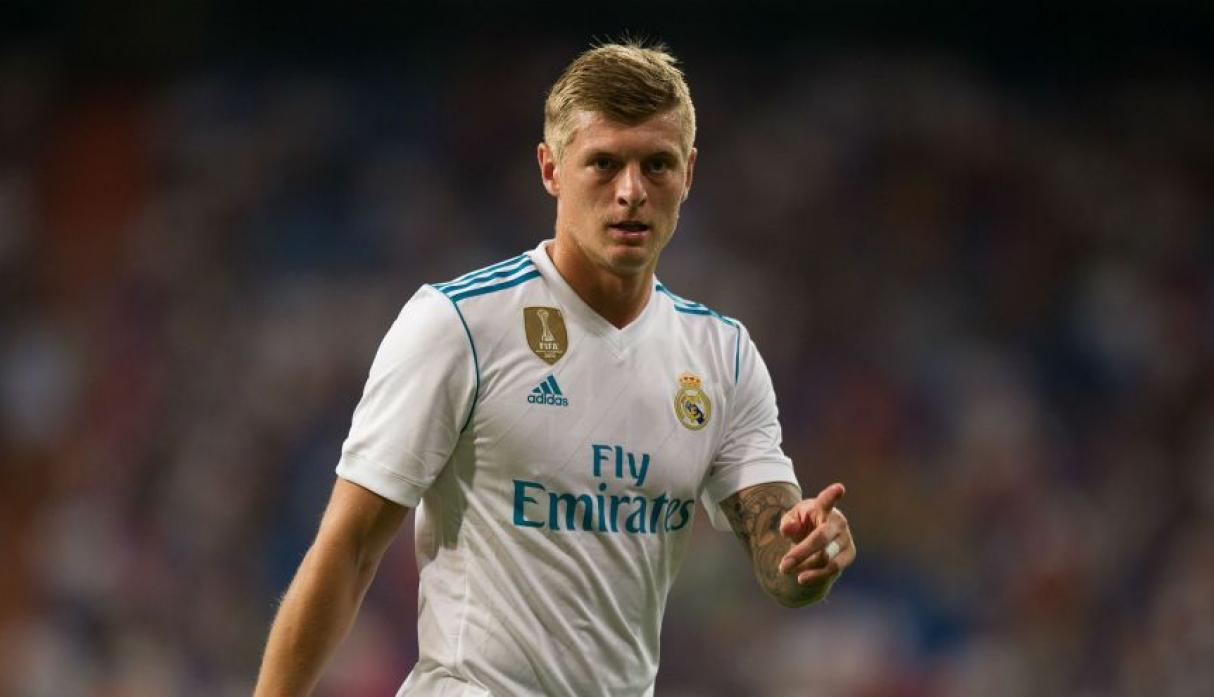 Real Madrid: Toni Kroos. (Foto: AFP)
