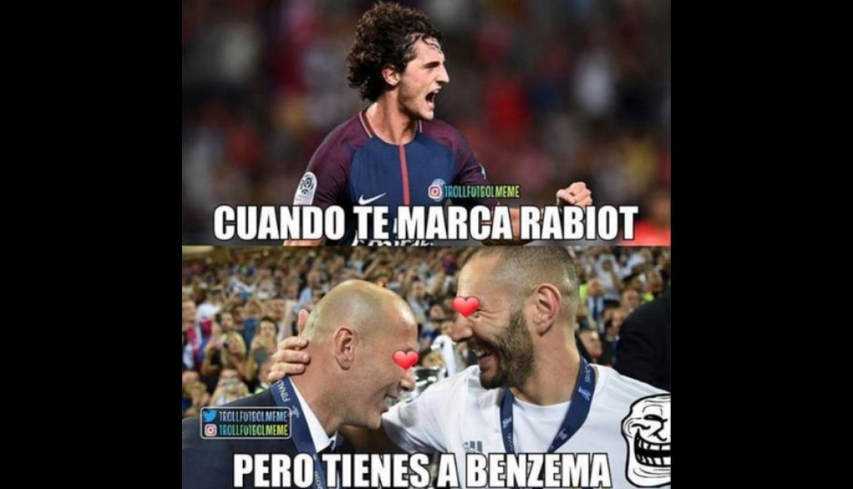 Facebook: los memes del Real Madrid vs. PSG