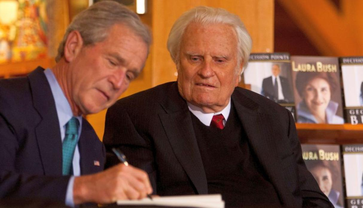 Billy Graham - Reuters