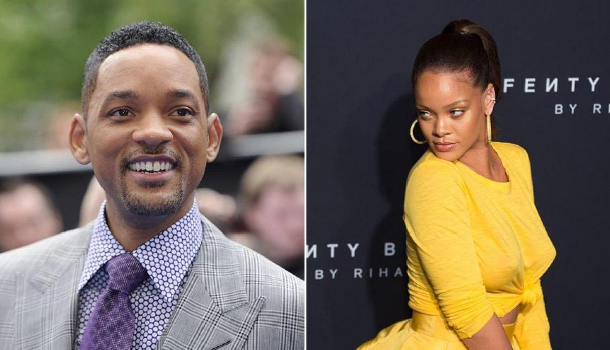 Will Smith y Rihanna
