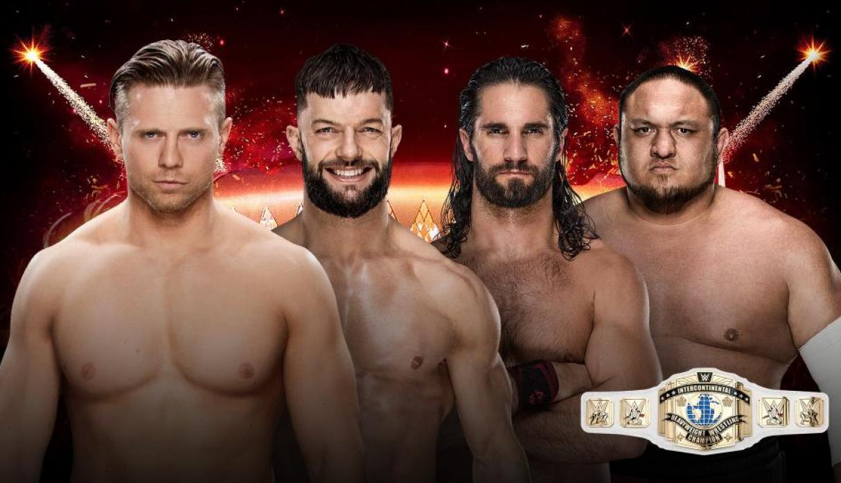 The Miz vs. Finn Bálor vs. Seth Rollins vs. Samoa Joe: por el título Intercontinental