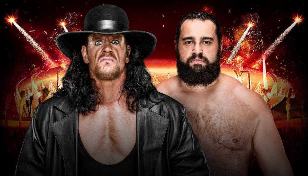The Undertaker vs. Rusev