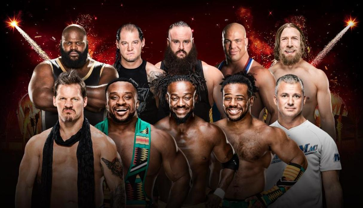 50-Man Royal Rumble Match