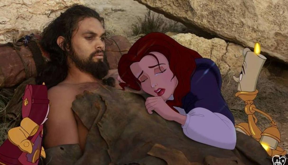 la vida de los personajes de Disney en Hollywood