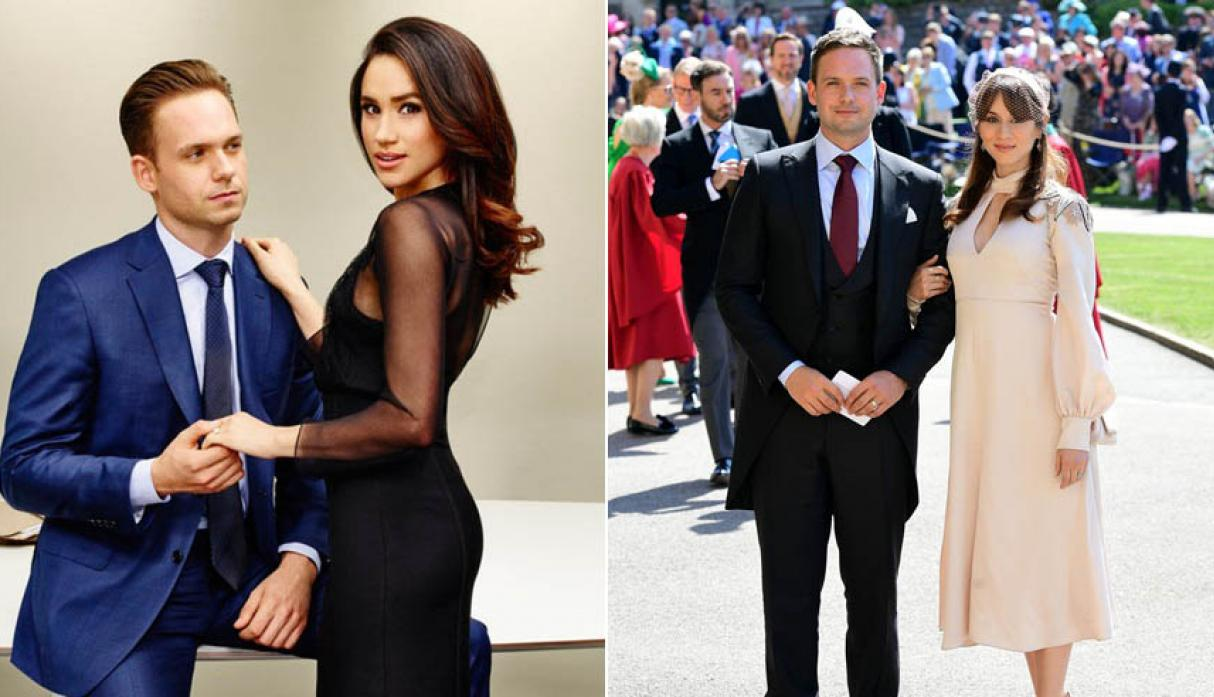"Elenco de ""Suits"" en la boda real"
