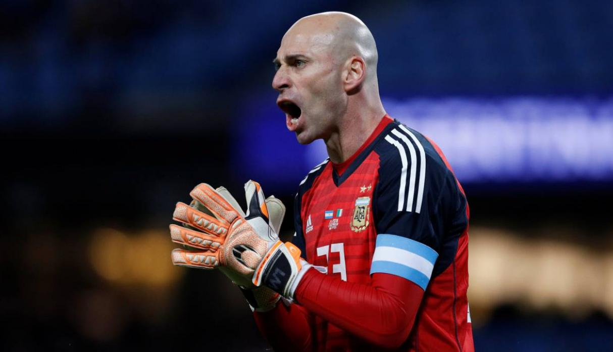 Willy Caballero. (Foto: AFP)