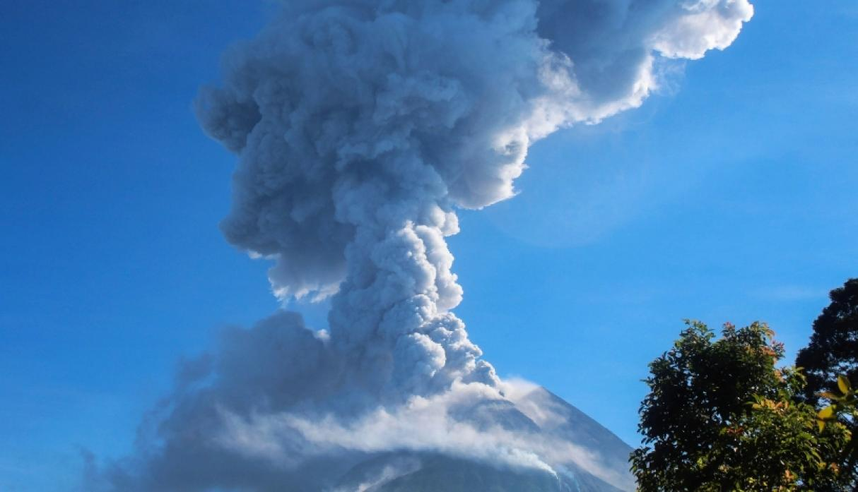 Volcán Merapi - Indonesia