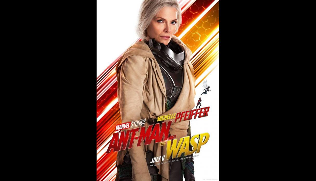 """""""Ant-Man and the Wasp"""" - pósters promocionales"""