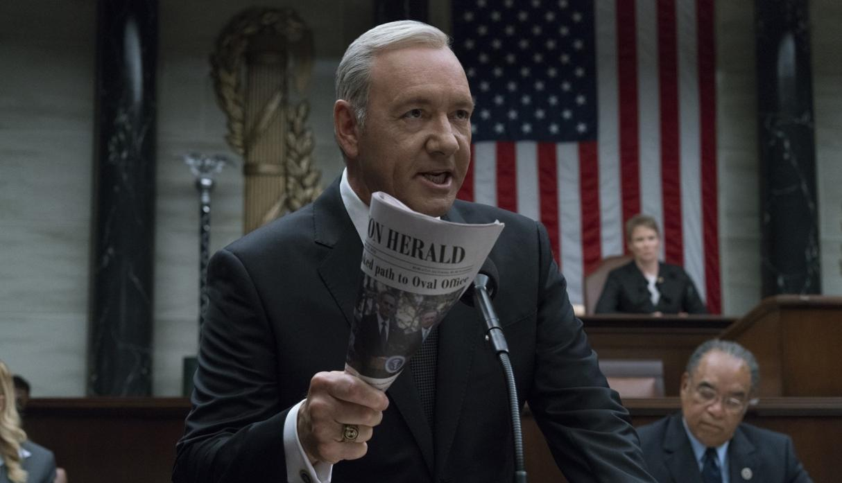 House of Cards muestra su futuro sin Kevin Spacey