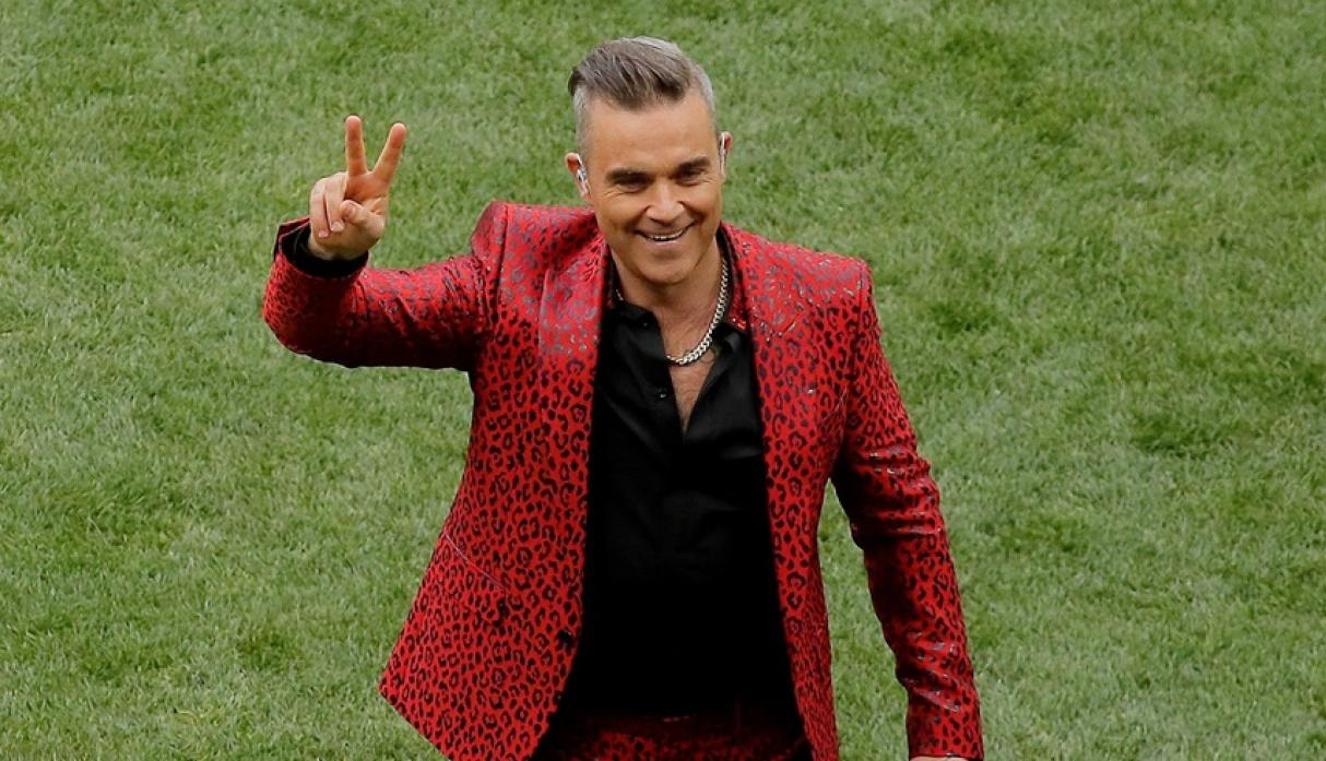 Robbie Williams en Rusia 2018. (Foto: Reuters)