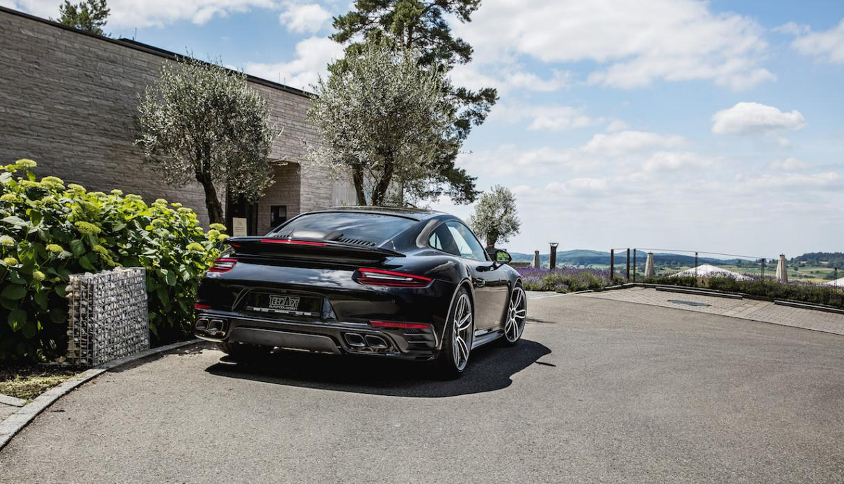 Porsche 911 Turbo S by TechArt