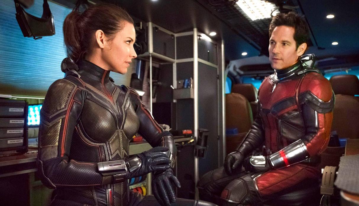 """Ant Man and the Wasp"": Evangeline Lilly"