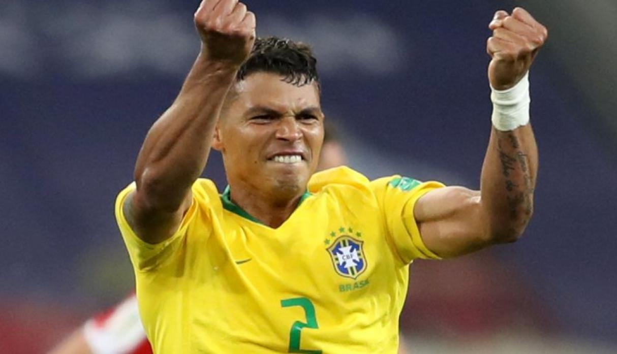 Defensor central. Thiago Silva. (Foto: Reuters)