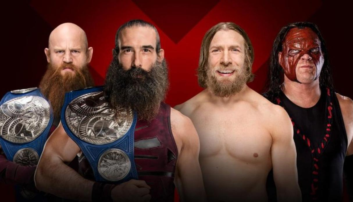 SmackDown Tag Team Champions: The Bludgeon Brothers vs. Team Hell No. (Foto: WWE).