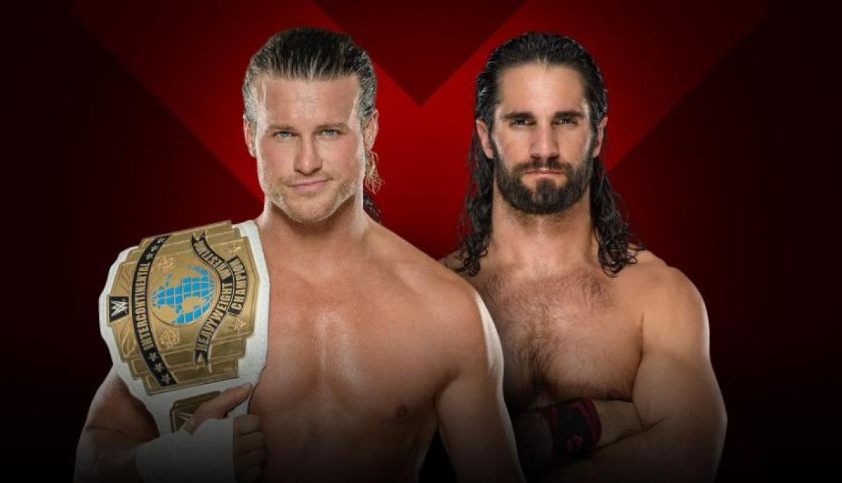Campeón Intercontinental: Dolph Ziggler vs. Seth Rollins (30-Minute WWE Iron Man Match) (Foto: WWE).