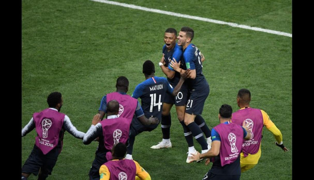 Francia vs. Croacia: final del Mundial Rusia 2018