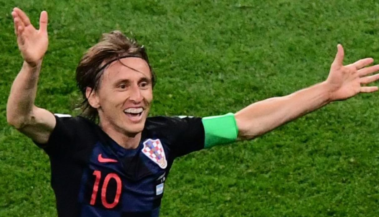 Luka Modric / Croacia / Real Madrid. (AFP)