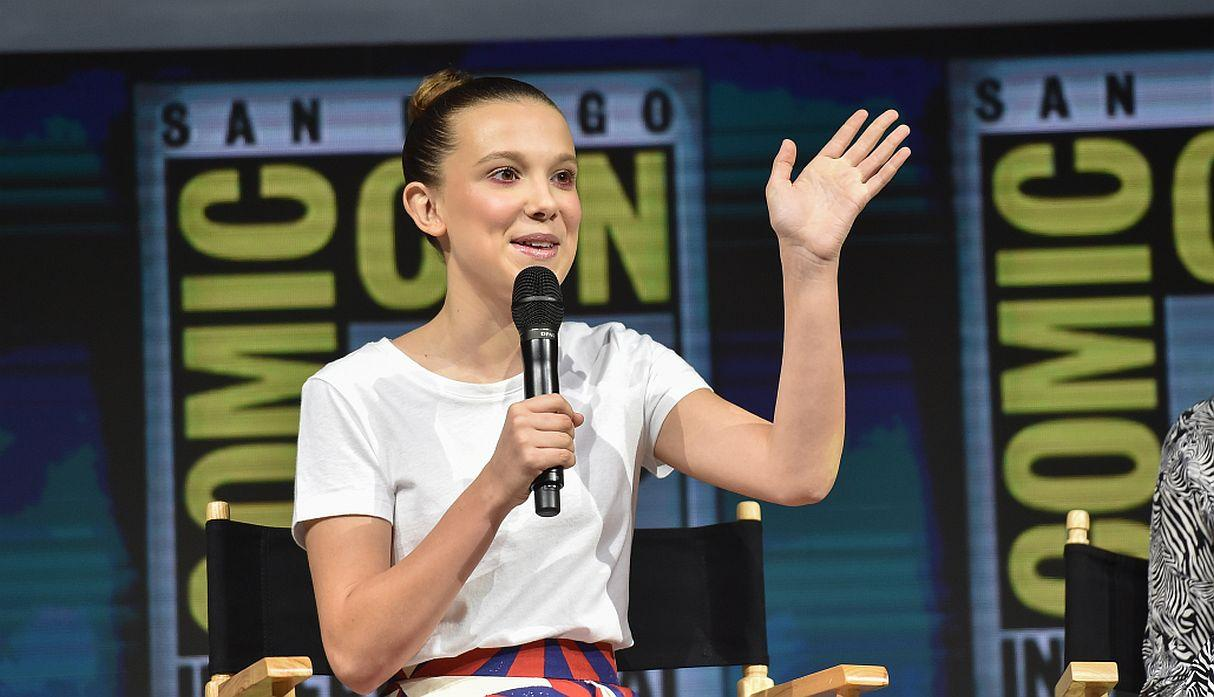 Millie Bobby Brown es actriz. (Foto: AFP)