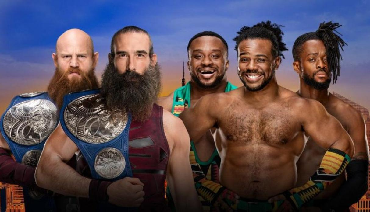 Campeonato de Parejas de SmackDown:The Bludgeon Brothers vs. The New Day.  (Foto: WWE).