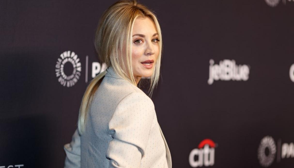 Kaley Cuoco se 'ahoga en lágrimas' ante la última temporada de The Big Bang Theory | Foto: AFP