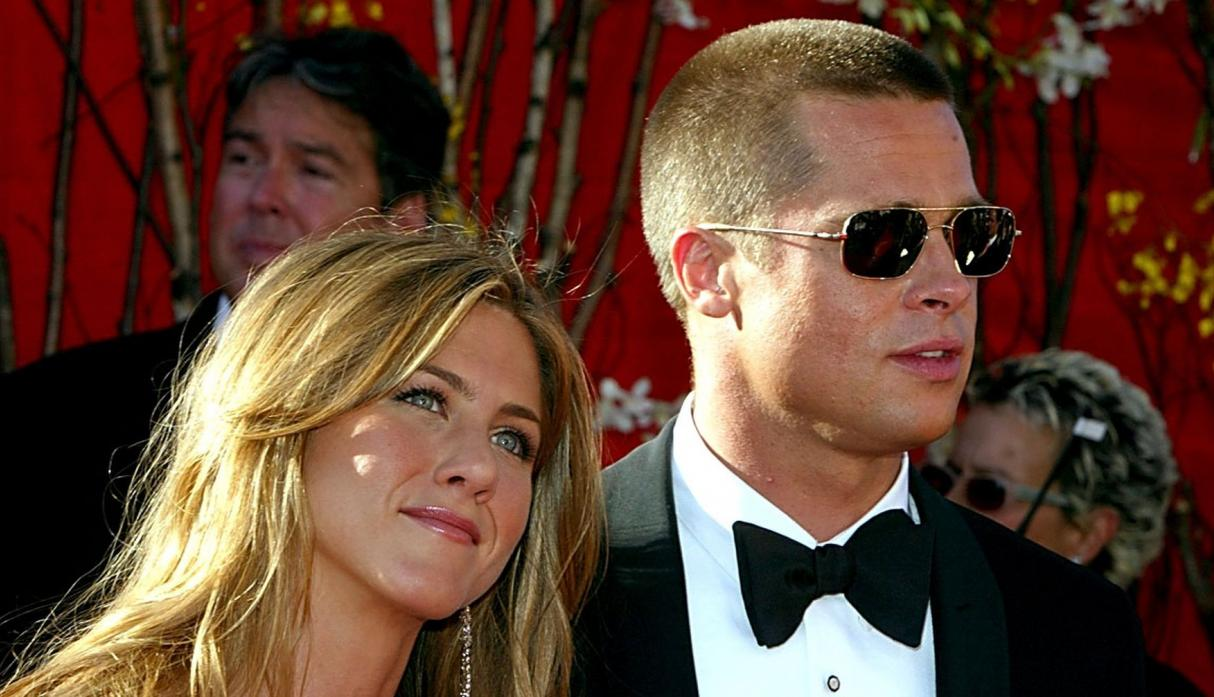 Jennifer Anniston y Brad Pitt