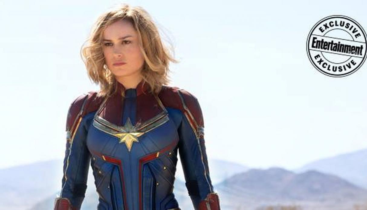 Brie Larson como Captain Marvel (Foto: Entertainment Weekly)