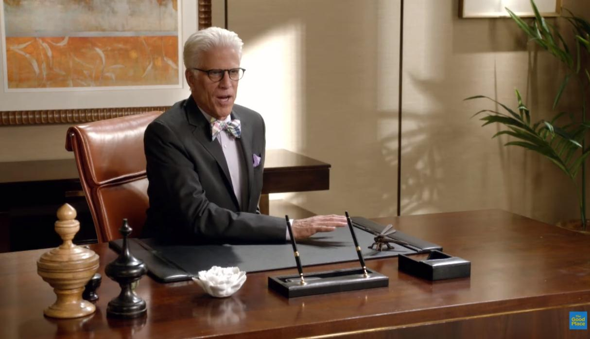 "Ted Danson, está nominado como ""Mejor actor principal en una serie de comedia"" gracias al papel que interpretó en ""The Good Place""