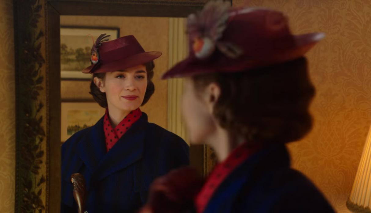 Emily Blunt como Mary Poppins. (Foto: YouTube)