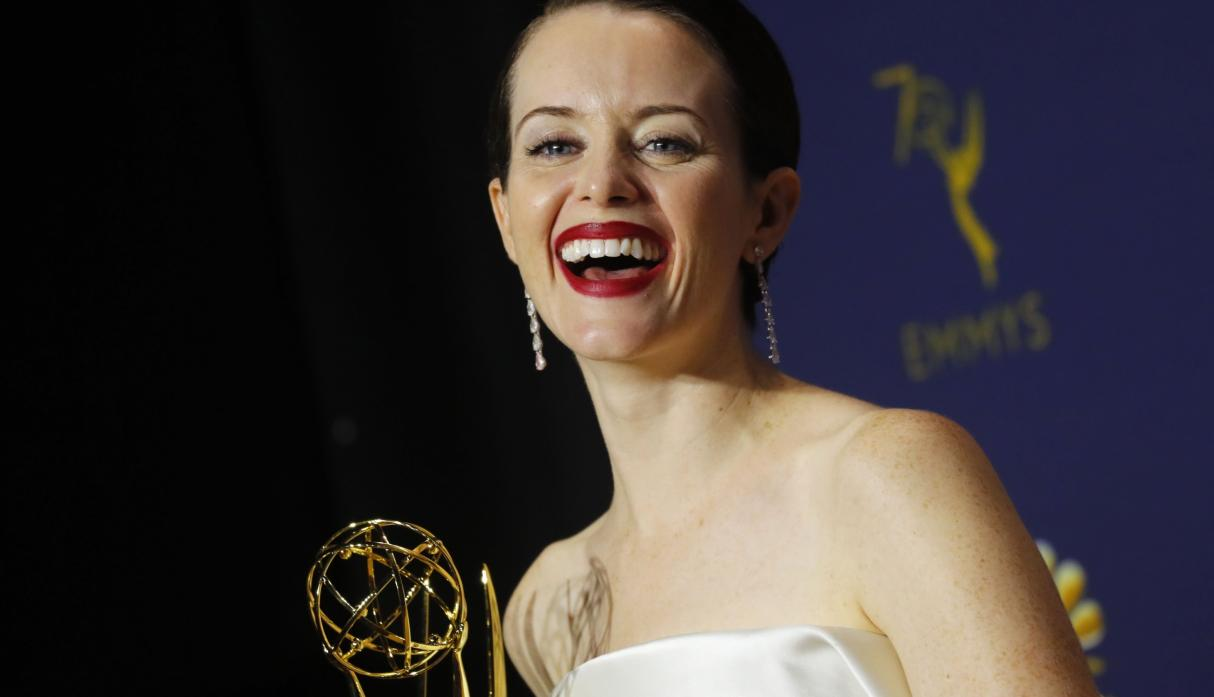 Image result for Claire Foy emmys 2018