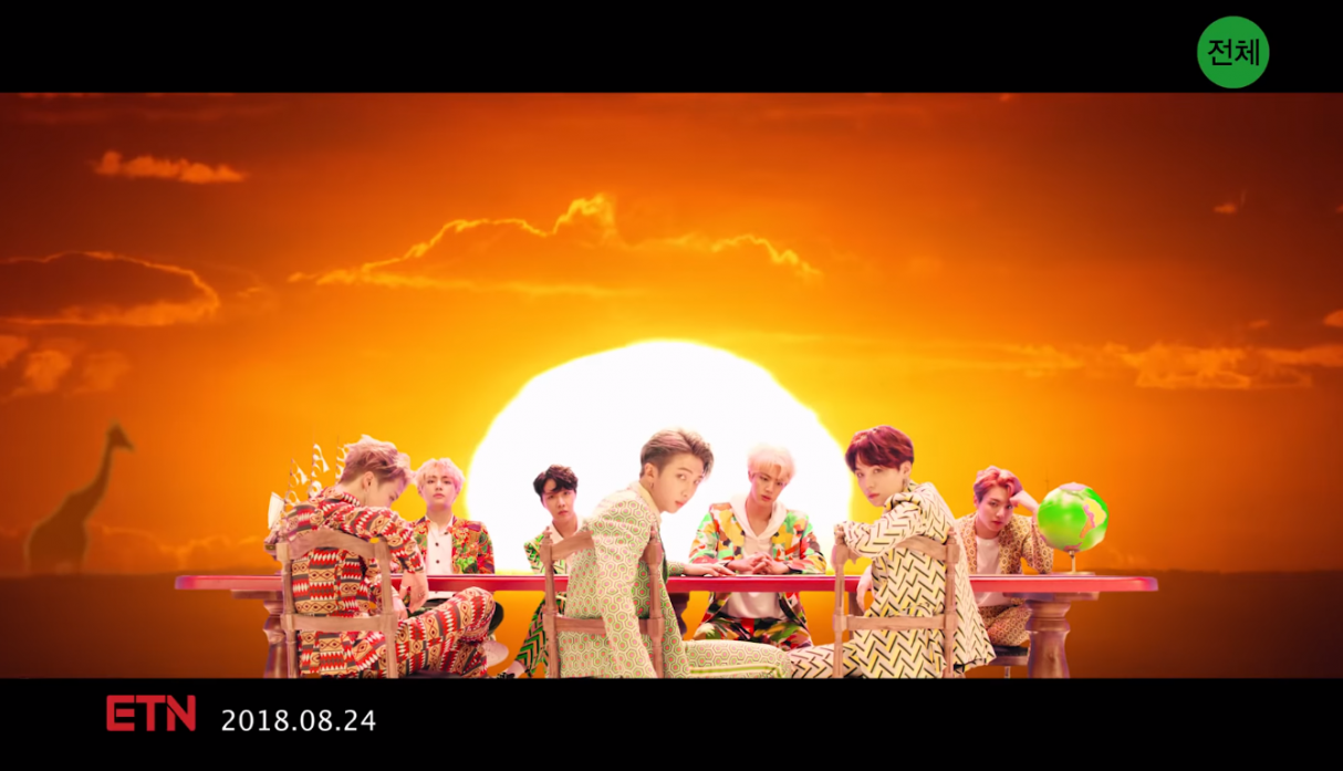 BTS 'Idol' Official - Video: YouTube