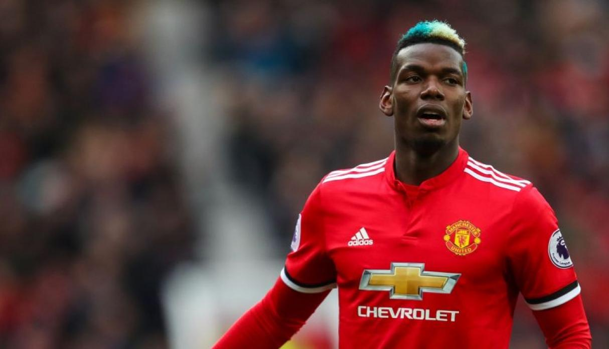Paul Pogba - Manchester United. (Foto: AFP)
