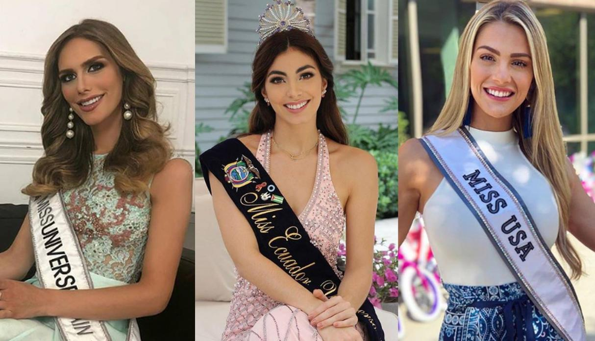 Candidatas al Miss Universo