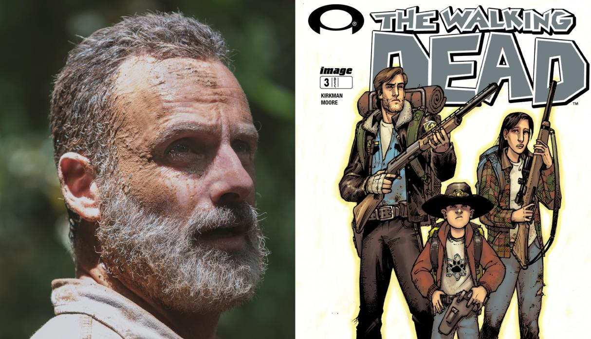 The Walking Dead dice adiós a Rick Grimes