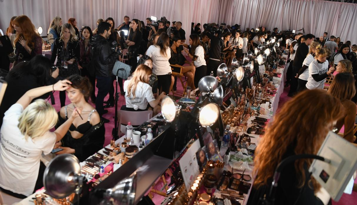 VS Fashion Show Backstage