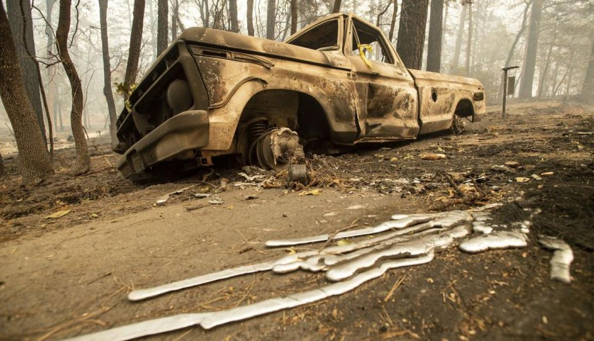 California | El desolador panorama que dejó el incendio forestal más destructivo | FOTOS | Estados Unidos