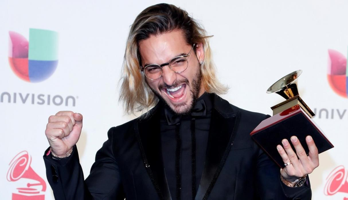 Maluma ganó Mejor Álbum Vocal Pop Contemporáneo en los Latin Grammy