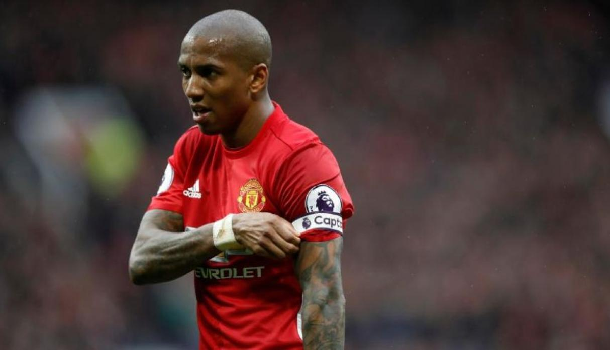Ashley Young - Manchester United.(Foto: AFP).