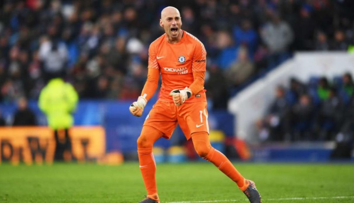 Willy Caballero - Chelsea.(Foto: AFP).