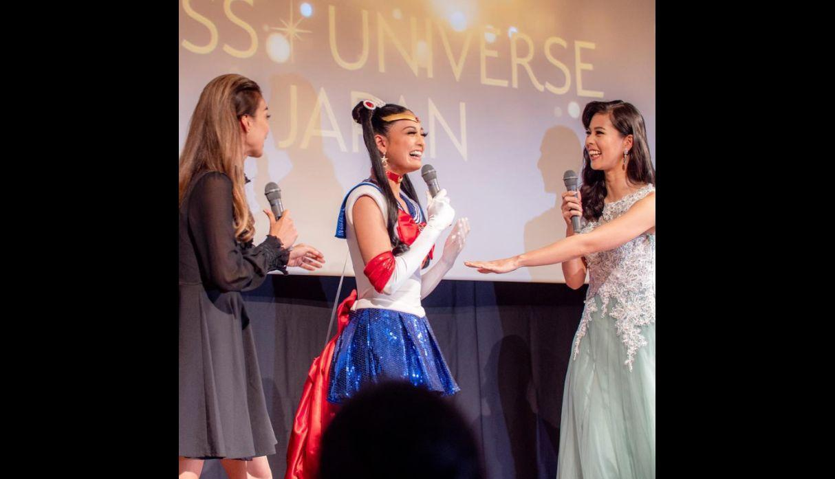 Yuumi Kato  - Miss Universo Japón - Sailor Moon