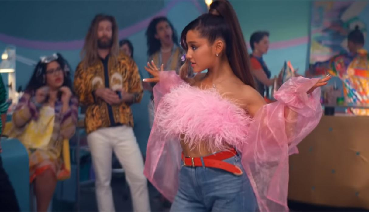 "Ariana Grande- ""Thank U, Next"". (Foto: YouTube)"