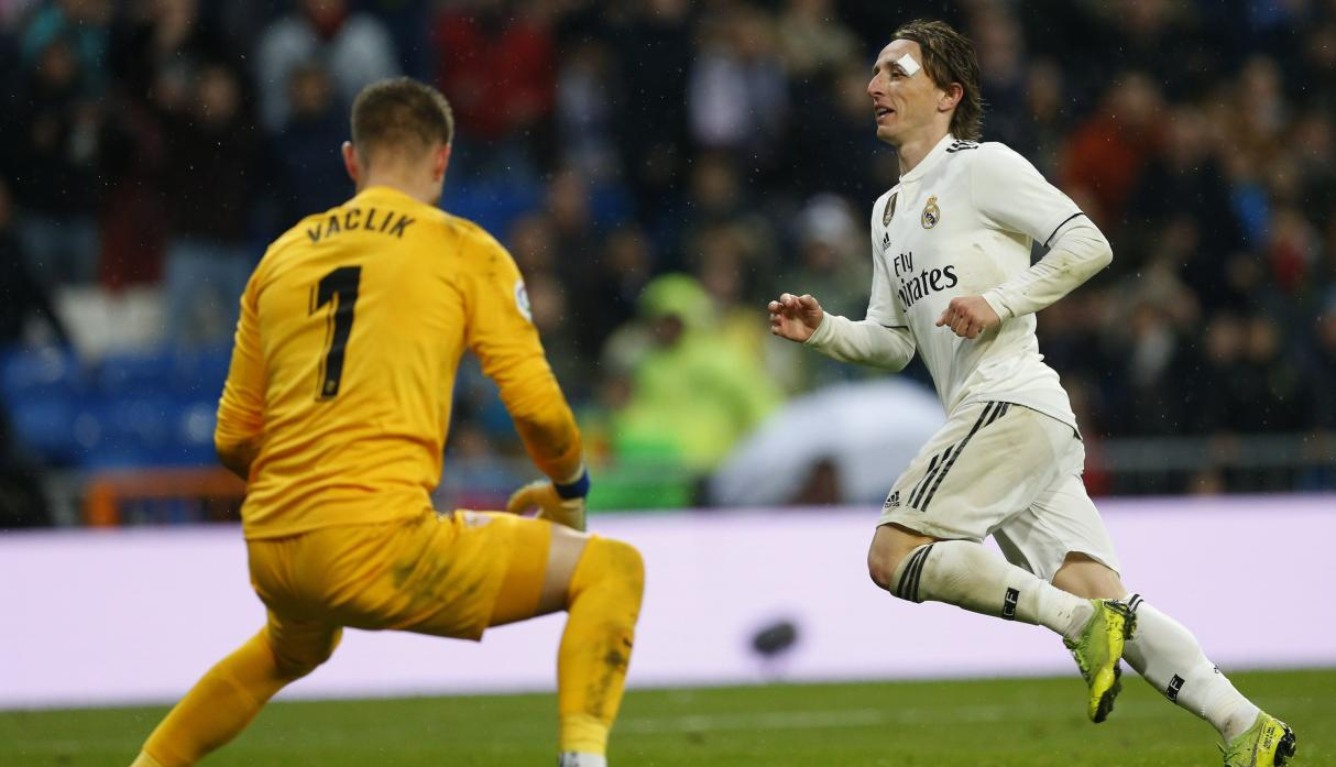Real Madrid vs. Sevilla: Modric selló el 2-0 con esta exquisita definición
