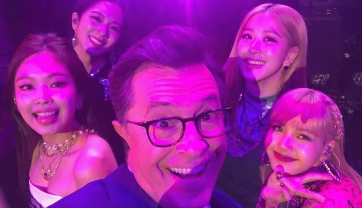 "BLACKPINK en ""The Late Show With Stephen Colbert"""