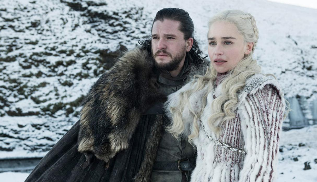 Game of Thrones 9 Jon Snow y Daenerys Targaryen