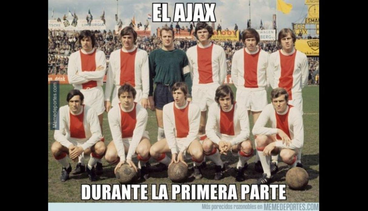 Real Madrid vs. Ajax: los despiadados memes del duelo por octavos de final de la Champions League.