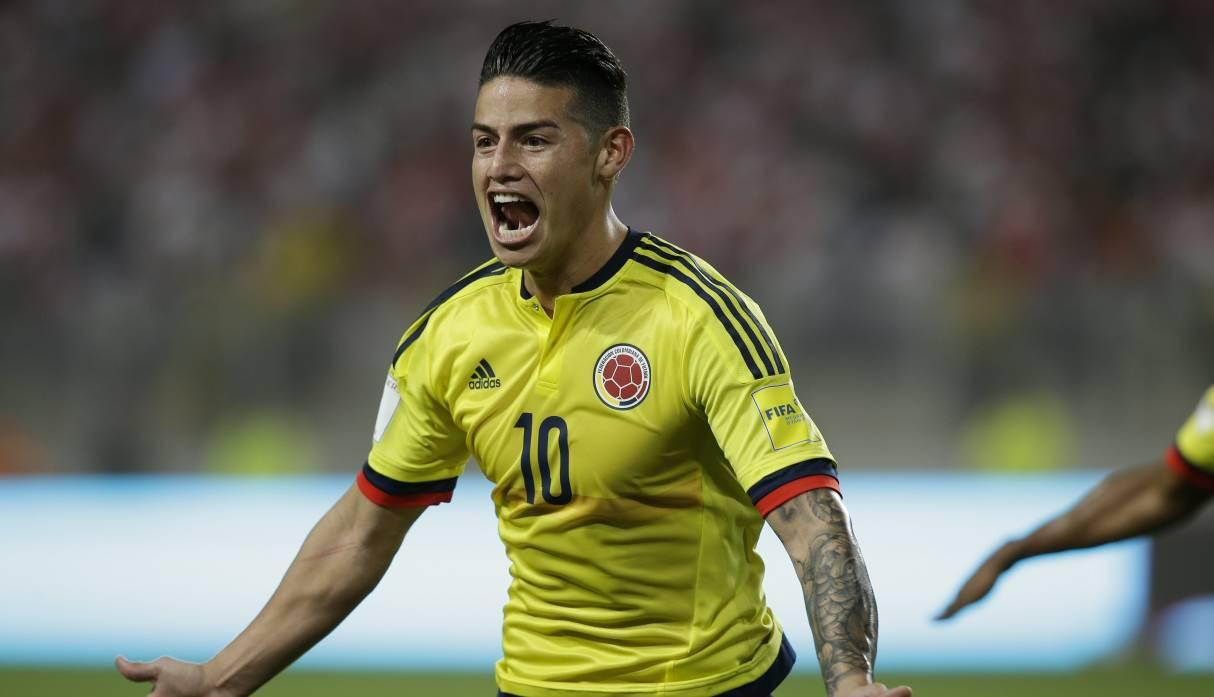 James Rodríguez  (Foto: AP)