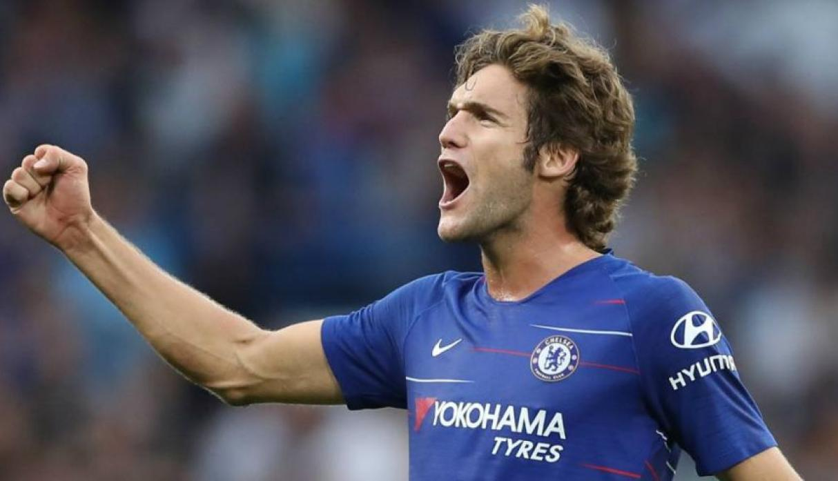 Marcos Alonso - Chelsea.  (Foto: AFP).